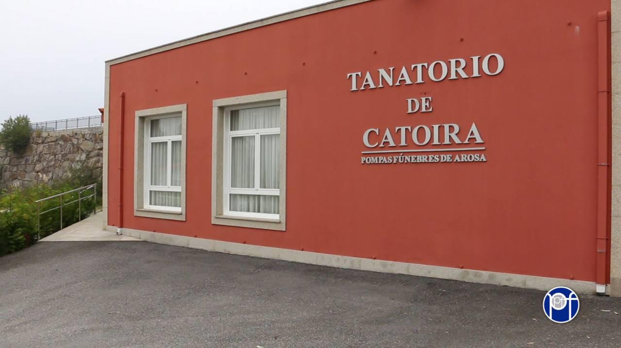 Fachada Tanatorio Catoira