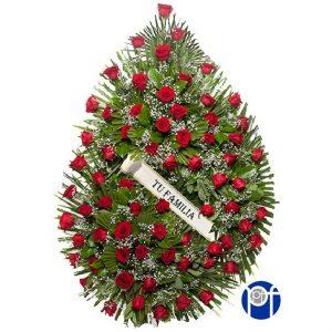 corona rosas modelo 3
